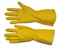Перчатки латексные 10/XL (12/240шт) SP-0019