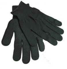 Перчатки нейлоновые с точкой (серые) (12/600шт)