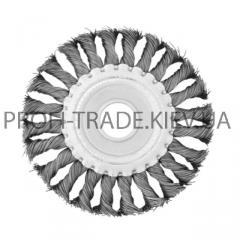 Щетка дисковая d 115*22 мм (плетеная проволока)