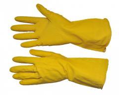 Перчатки латексные 8/М (12/240шт) SP-0017