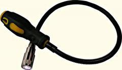 Магнит на гибком удлинителе с фонариком HOUSE TOOLS 35K116