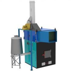 Теплогенератор ИНКА  горячего воздуха на твердом топливе марки  для воздушного отопления мощностью от 100 до 5000 кВт