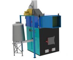 Теплогенератор горячего воздуха на твердом топливе марки ПОВ ИНКА для воздушного отопления мощностью от 100 до 5000 кВт