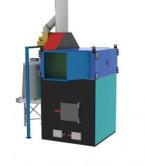 Heatgenerators of hot air on solid fuel of the POV