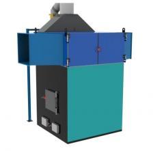 Теплогенераторы горячего воздуха на твердом топливе марки ПОВ ИНКА для воздушного отопления мощностью от 100 до 5000 кВт