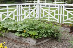 Заборы садовые
