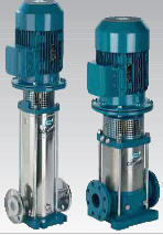 Pump multirow multistage vertical Calpeda