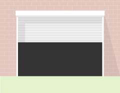 Роллетные ворота металл авт 3*2,5