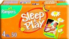 Pañales 4 Maxi 8-14kg 50pcs Sleep and Play Pampers 1/1