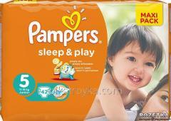 Подгузники 5 Junior 11-18кг 42шт Sleep and Play Pampers 1/1