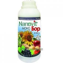 Водорозчине добриво NANOVIT Моно Бор