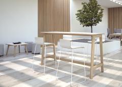 High table Nova Wood New!
