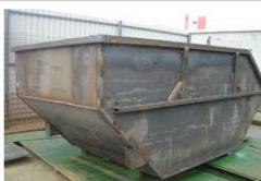 Containers and tanks for garbage