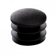 Cap for the round pipe D=20 of mm the SPHERE black