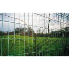 Забор в рулонах из сварной сетки с ПВХ покрытием