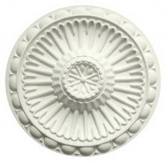 Розетка потолочная декоративная. Гипс, d-556