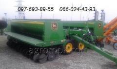 La sembradora cereal John Deere 455