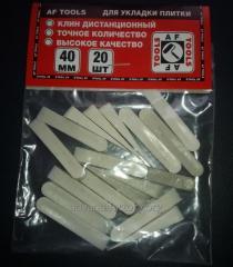 Клинья для кафельной плитки Эконом 40 мм
