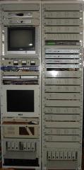 Станция мультимедийная UWDS, работающая в диапазоне частот 10,15 - 10,3 ГГц, 10,5 - 10,65 ГГЦ, 11,7 - 12,5 ГГц,  для организации цифрового ТВ вещания, обеспечения абонентов высококачественным эфирным Internet и IP телефонией