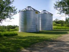 Зернохранилища фермерские Sioux Steel