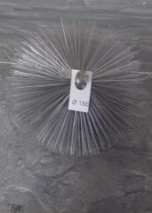 Щетка металлическая для чистки дымохода ф150мм
