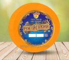 Russian cheese 50% fat