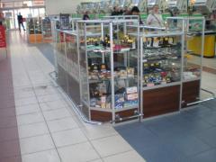 Show-windows, counters and racks trade Lviv