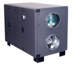 Вентиляционные установки с роторным рекуператором