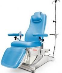 Медицинское кресло донора с электроприводом...