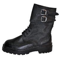 Ботинки Омон юфть/кирза утепленные зима