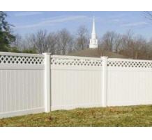 Fence plastic