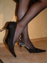 Model women's shoes velors, Kiev