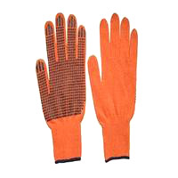 Перчатки ПВХ - 10 класс 2 нитки 261, 16378437