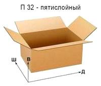 Гофроящик - П 32 под заказ, 16378504