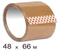 Клейкая лента 48 × 66 кор.
