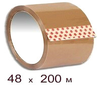 Клейкая лента 48 × 200 кор.