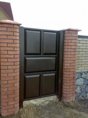 Металлоконструкции дверные