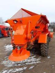 Machines sanding-throwing