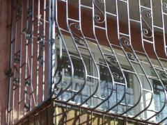 Lattices for balcony