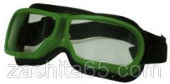 Засоби індивідуального захисту очей та обличчя