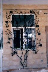 Решетки кованные на окна и балконы