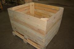 Контейнер деревянный для хранения яблок,овощей