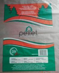 Plastic film for pallet packing