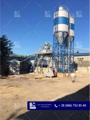 Cement silo on 74 t, silos for storage loose, cement warehouses, accumulative capacities