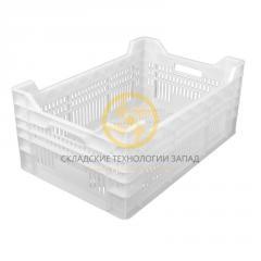 Пластиковые ящики для мяса 600х400х260/220