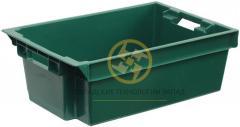 Пластиковые ящики конусные 600x400x200