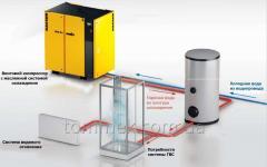 Утилизация тепла от компрессора