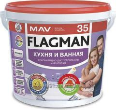 FLAGMAN 35 paint kitchen and bathroom
