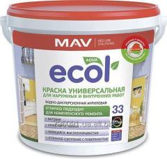 ECOL 33 paint universal for external and internal