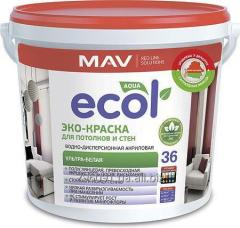 ECOL 36 WHAT PAINT for ceilings and walls